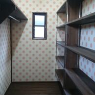 寝室 クローゼット